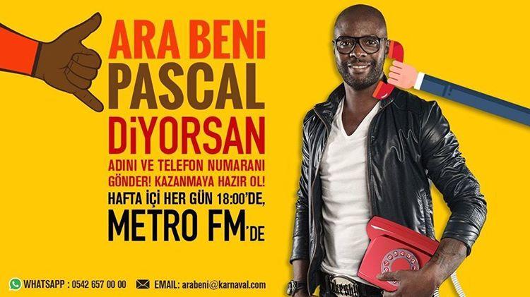 Pascal Nouma, Metro FM'de Yepyeni Bir Programla Karşınıza Çıkıyor!