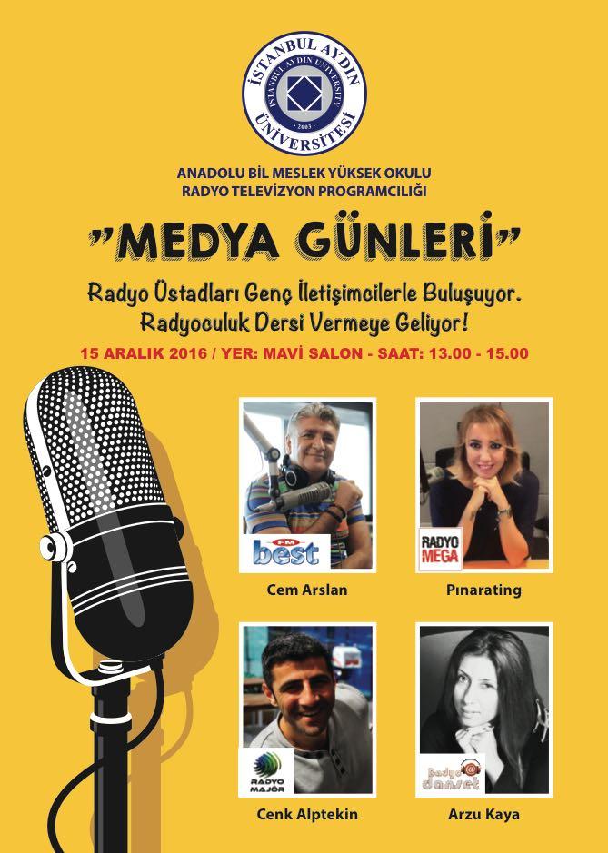 Radyo Sektörünün Başarılı İsimleri Genç İletişimcilerle Buluşuyor!